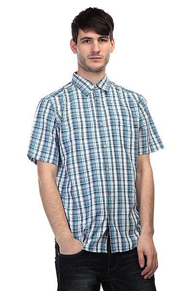 Рубашка в клетку Marmot Baywood Atomic Blue<br><br>Цвет: голубой<br>Тип: Рубашка в клетку<br>Возраст: Взрослый<br>Пол: Мужской