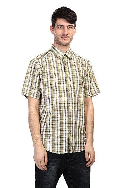 Рубашка в клетку Marmot Baywood Desert Khaki<br><br>Цвет: белый,желтый<br>Тип: Рубашка в клетку<br>Возраст: Взрослый<br>Пол: Мужской