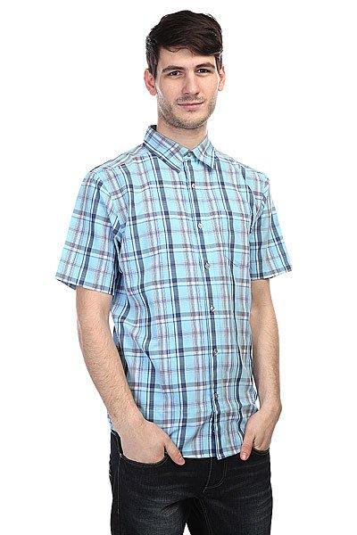 Рубашка в клетку Marmot Newport Crystal Blue рубашка в клетку insight liberty pit blue