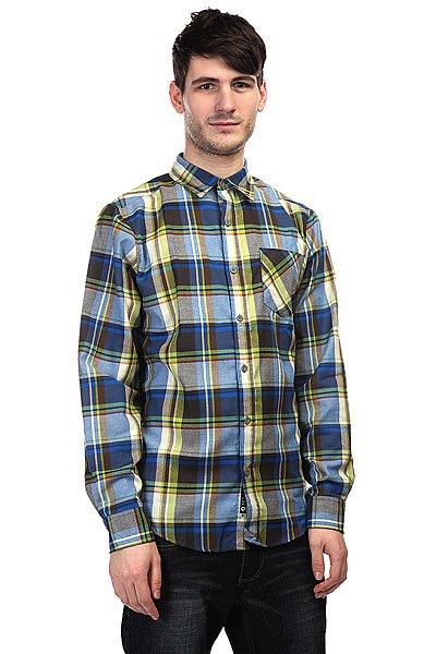 Рубашка в клетку Marmot Doheny Flannel Peak Blue<br><br>Цвет: синий,зеленый<br>Тип: Рубашка в клетку<br>Возраст: Взрослый<br>Пол: Мужской