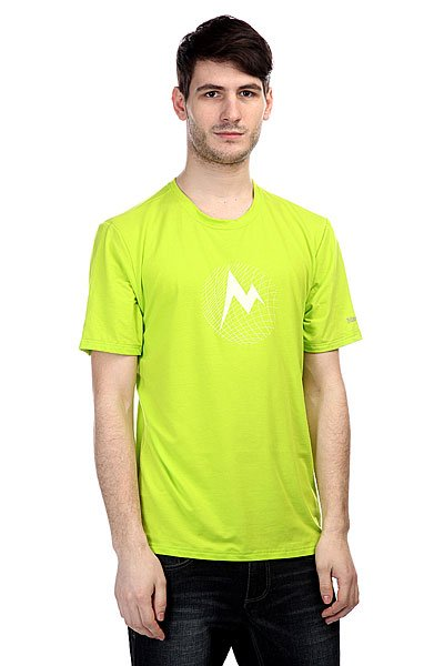 Футболка Marmot Mdot Grid Tee Green Lime