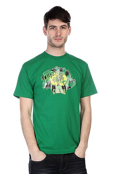 Футболка Creature Tribute Kelly Green<br><br>Цвет: зеленый<br>Тип: Футболка<br>Возраст: Взрослый<br>Пол: Мужской