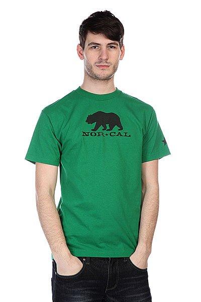 Футболка Nor Cal Black Bear Kelly Green<br><br>Цвет: зеленый<br>Тип: Футболка<br>Возраст: Взрослый<br>Пол: Мужской