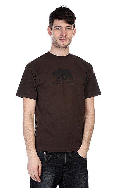 Футболка Nor Cal Black Bear Dark Chocolate<br><br>Цвет: коричневый<br>Тип: Футболка<br>Возраст: Взрослый<br>Пол: Мужской