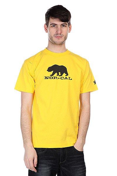 Футболка Nor Cal Black Bear Yellow<br><br>Цвет: желтый<br>Тип: Футболка<br>Возраст: Взрослый<br>Пол: Мужской
