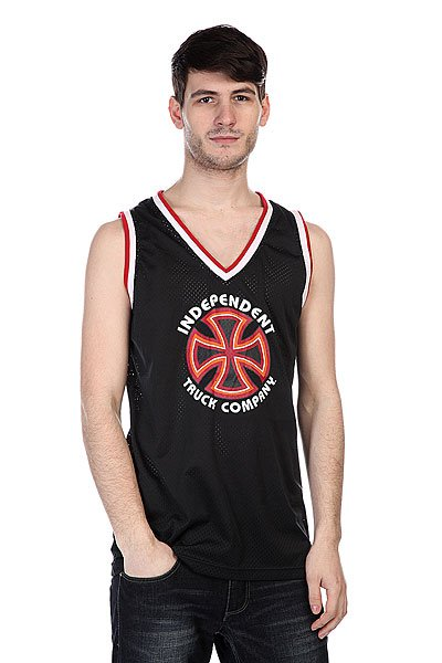 Майка Independent Scrimmage Jersey Tank Black 3 pin push button switches red silver 5 piece pack