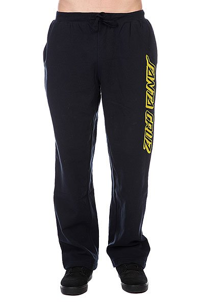 Штаны широкие Santa Cruz Classic Strip Sweat Pant Navy наушники beats ep on ear headphones white ml9a2ze a