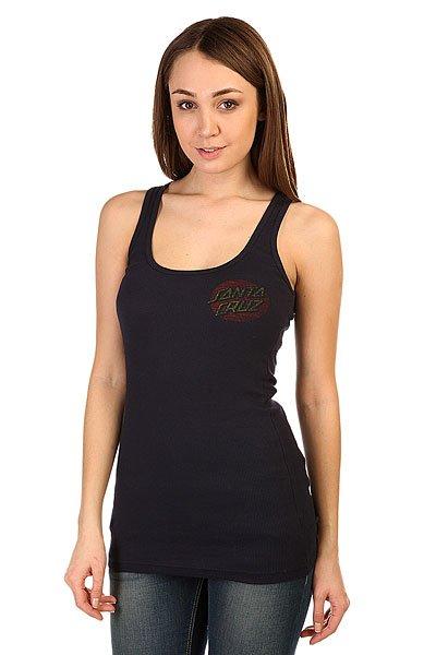 Платье женское Santa Cruz Classic Dot Tank Navy штаны широкие santa cruz classic strip sweat pant navy