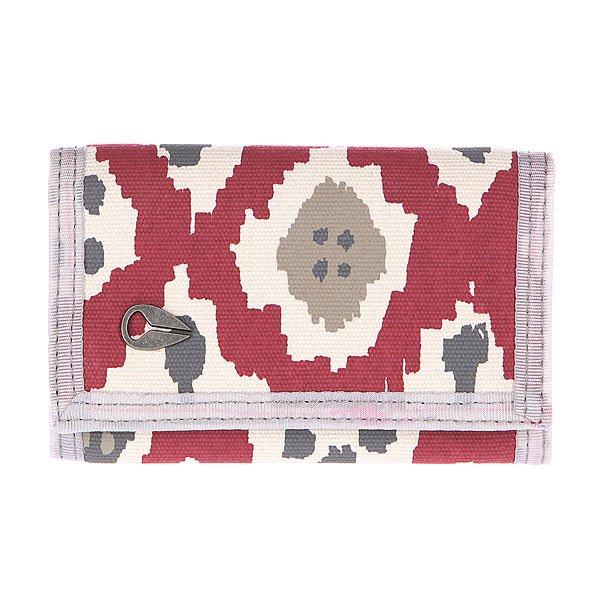 Кошелек Nixon Tree Hugger Tri-fold Wallet IkatКомпактный женский кошелек из текстиля с удобным внутренним органайзером.Технические характеристики: Слоты для карт.Карман на молнии для монет.Слот с прозрачным окошком.Металлический значок Nixon.<br><br>Цвет: бордовый,бежевый<br>Тип: Кошелек<br>Возраст: Взрослый<br>Пол: Мужской