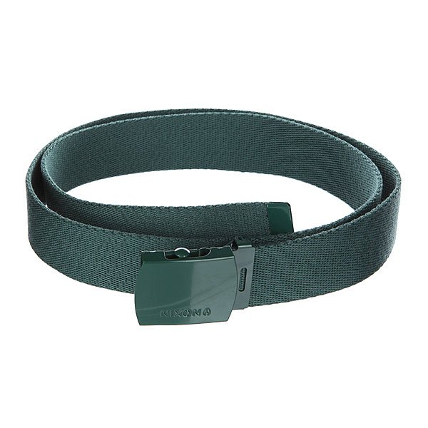 Ремень Nixon Basis Belt Posy Green от Proskater