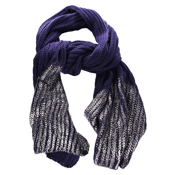 Шарф женский Nixon Blinded By Scarf Navy/Silver