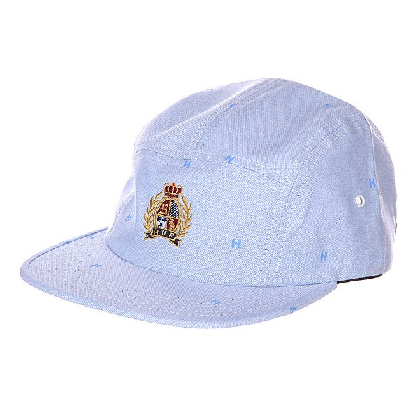 Бейсболка Huf Crested Volley Blue<br><br>Цвет: голубой<br>Тип: Бейсболка пятипанелька<br>Возраст: Взрослый