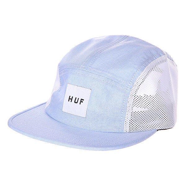 Бейсболка Huf Oxford Mesh Volley Blue<br><br>Цвет: голубой<br>Тип: Бейсболка птипанелька<br>Возраст: Взрослый