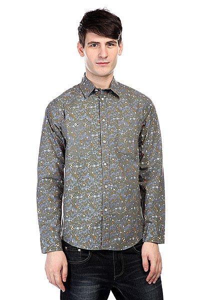 Мужская рубашка Рубашка Altamont Parse Ls Woven Camo от Proskater