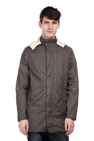 Куртка Altamont Copal Jacket GreyТехнические характеристики: Внутренняя подкладка из тафты. Классический воротник-стойка.  Застежка – молния+кнопки.  Фиксированный капюшон.Внутренний потайной карман.  Два боковых прорезных кармана для рук.  Фасон: стандартный (regular fit).<br><br>Цвет: коричневый<br>Тип: Куртка<br>Возраст: Взрослый<br>Пол: Мужской