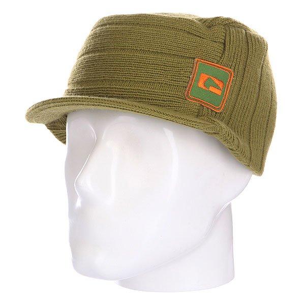 Шапка с козырьком Globe Miltitant Black<br><br>Цвет: зеленый<br>Тип: Шапка<br>Возраст: Взрослый<br>Пол: Мужской
