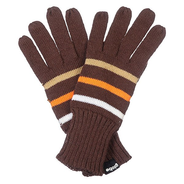 Перчатки Globe Tristripe Gloves Chocolate