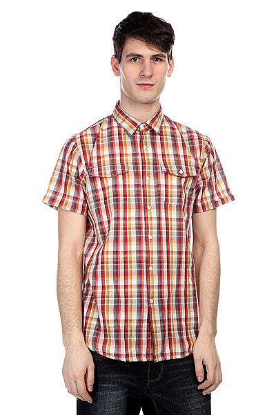 Рубашка в клетку Globe Swanston Shirt Ketchup<br><br>Цвет: красный<br>Тип: Рубашка в клетку<br>Возраст: Взрослый<br>Пол: Мужской