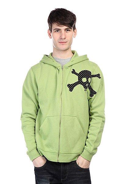 Толстовка Globe Skulka Kiwi<br><br>Цвет: зеленый<br>Тип: Толстовка классическая<br>Возраст: Взрослый<br>Пол: Мужской