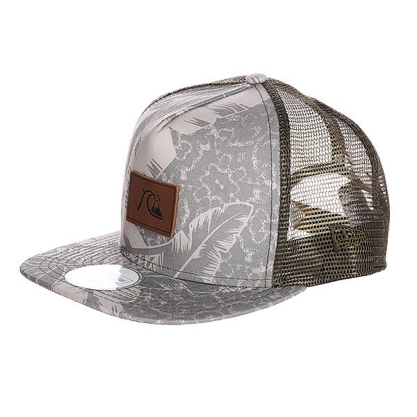 Бейсболка Quiksilver Jungle Juice Hats Beryl Green