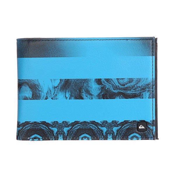 Кошелек Quiksilver Transfer Wllt Neon Blue
