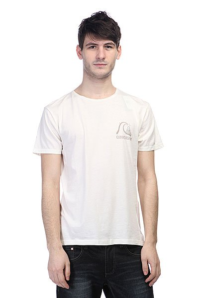 Футболка Quiksilver Garment Dyed E5 Tees Snow White