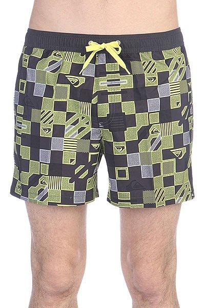 ����� ������� Quiksilver Checkered Vl15 Jamv Checkered Volley Sulphur