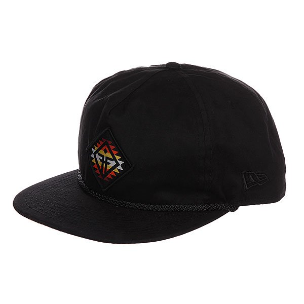 Бейсболка Fallen Fallen Yuma Snapback Black/Oxbl<br><br>Цвет: черный<br>Тип: Бейсболка с прямым козырьком<br>Возраст: Взрослый