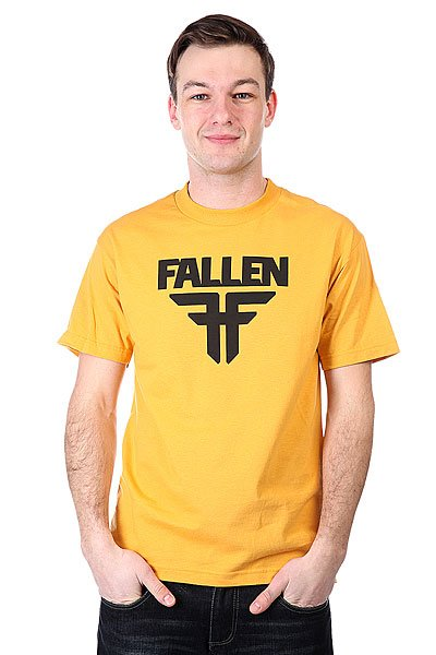 Футболка Fallen Insignia Logo Must/BlackПанама<br><br>Цвет: желтый<br>Тип: Футболка<br>Возраст: Взрослый<br>Пол: Мужской