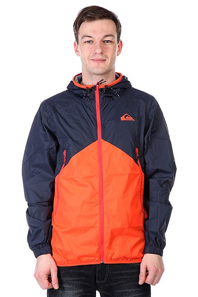 Ветровка Quiksilver New Wave Jacket Jacket Mandarin Red
