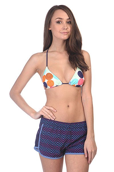 Бюстгальтер женский Roxy Tiki Tri J Twister Sea Spray