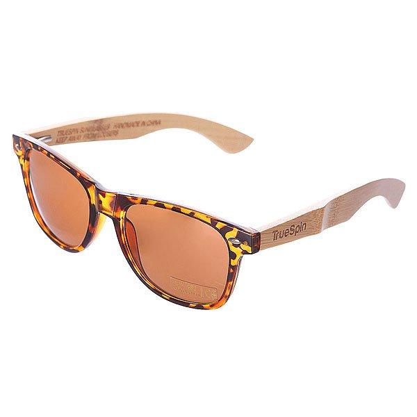 Очки TrueSpin Bamboo/Brown DemiСтильные очки TrueSpin с натуральными бамбуковыми дужками.Технические характеристики: Пластиковая оправа.Бамбуковые дужки.Ударопрочные поликарбонатные линзы.100% защита от ультрафиолета.<br><br>Цвет: коричневый<br>Тип: Очки<br>Возраст: Взрослый<br>Пол: Мужской