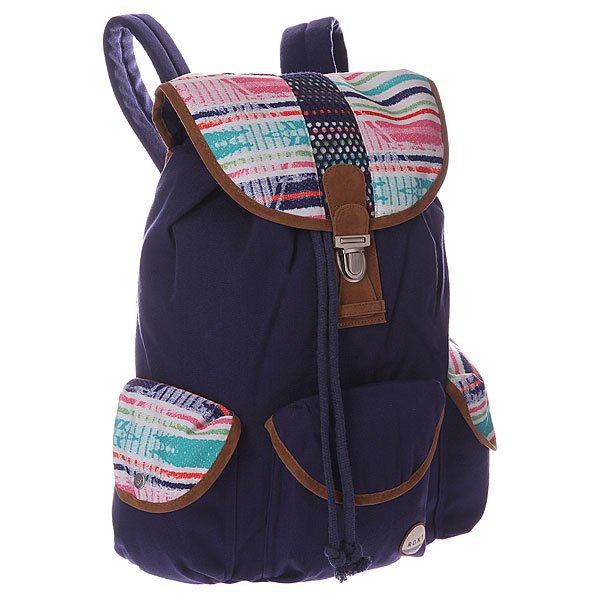 Рюкзак городской женский Roxy Toucan Surf Backpack Warm White Sunset Lo