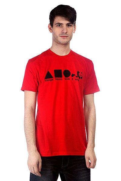 Футболка Enjoi Shapes Premium Red<br><br>Цвет: красный<br>Тип: Футболка<br>Возраст: Взрослый<br>Пол: Мужской