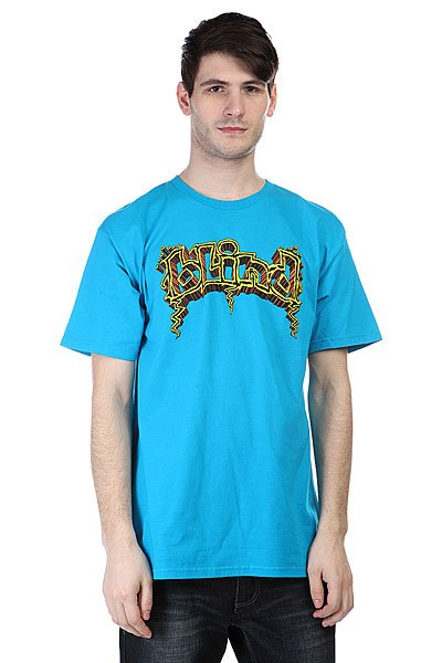 Футболка Blind 60-s Og Logo Turquoise<br><br>Цвет: голубой<br>Тип: Футболка<br>Возраст: Взрослый<br>Пол: Мужской