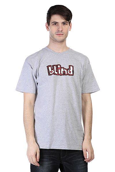 Футболка Blind Og Logo Athletic Heather<br><br>Цвет: серый<br>Тип: Футболка<br>Возраст: Взрослый<br>Пол: Мужской