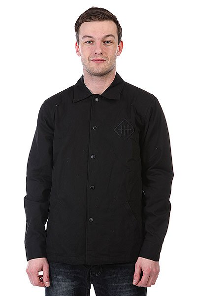 Куртка Huf X Haze Coaches Jacket True Black
