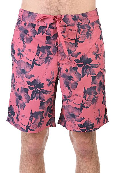 Шорты пляжные Huf Floral Boardshort Salmon Floral рубашка huf floral s s woven salmon floral