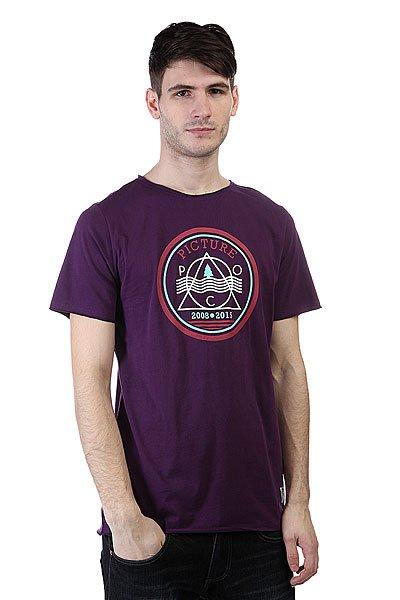 Футболка Picture Organic Found Purple<br><br>Цвет: фиолетовый<br>Тип: Футболка<br>Возраст: Взрослый<br>Пол: Мужской