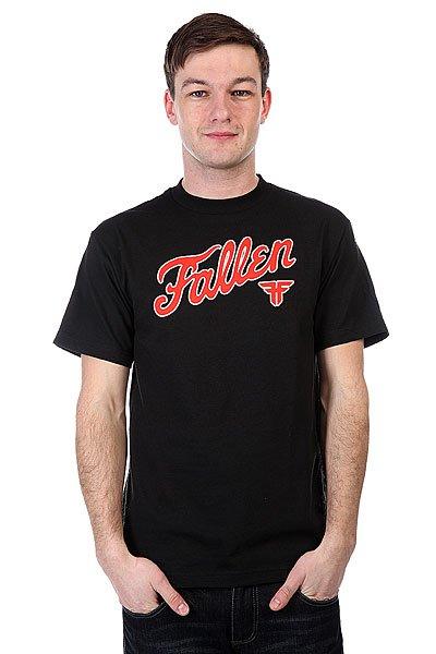 Футболка Fallen Fury Black/Red<br><br>Цвет: черный<br>Тип: Футболка<br>Возраст: Взрослый<br>Пол: Мужской