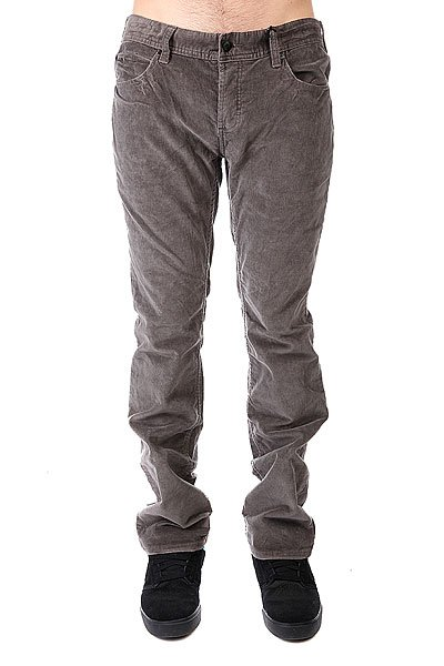 Джинсы прямые Fallen Thomas Signature Cords Dark Grey