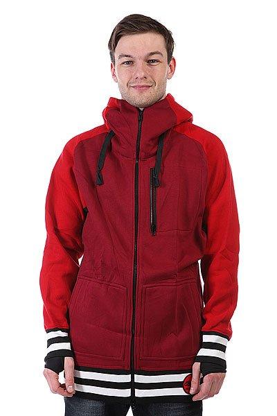 Толстовка сноубордическая Shweyka Exception Zip Red/Bordo<br><br>Цвет: красный<br>Тип: Толстовка сноубордическая<br>Возраст: Взрослый<br>Пол: Мужской