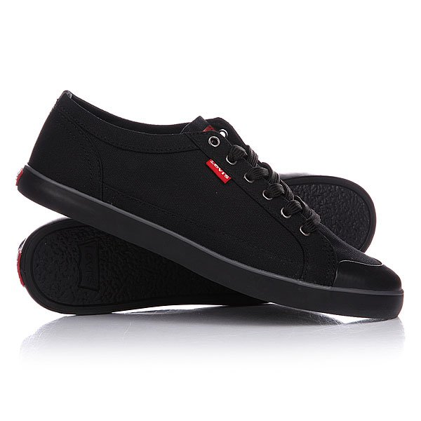 Кеды кроссовки Levis Venice Beach Low.2733 Regular Black