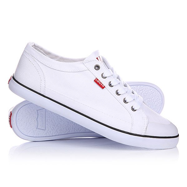 Кеды кроссовки Levis Venice Beach Low.2733 Brilliant White