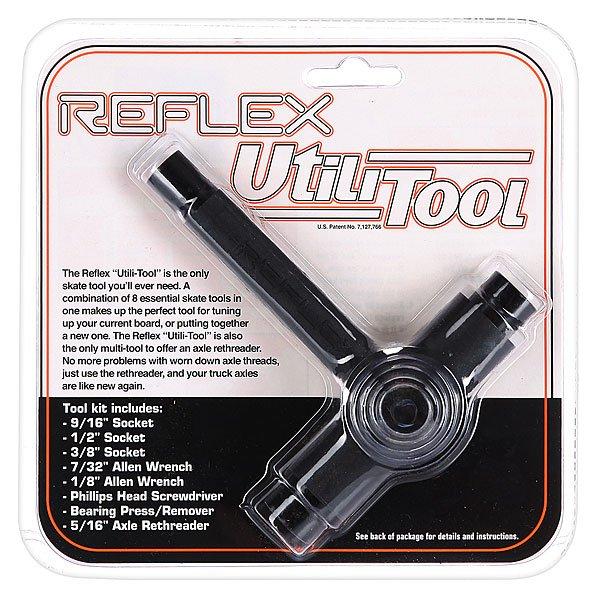 Ключ для скейтборда Reflex Tool Black/BlackReflex<br><br>Цвет: черный<br>Тип: Ключ для скейтборда