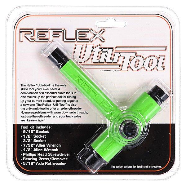 Ключ для скейтборда Reflex Tool Green/Black