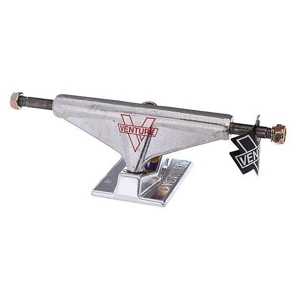 Подвеска для скейтборда 1шт. Venture V-light Polished 5 (19.7 см)Ширина подвесок: 5 (19.7 см)    Высота подвесок: 5.5 мм    Цена указана за 1 шт    Минимальное количество для заказа 2 шт<br><br>Цвет: серый<br>Тип: Подвеска для скейтборда
