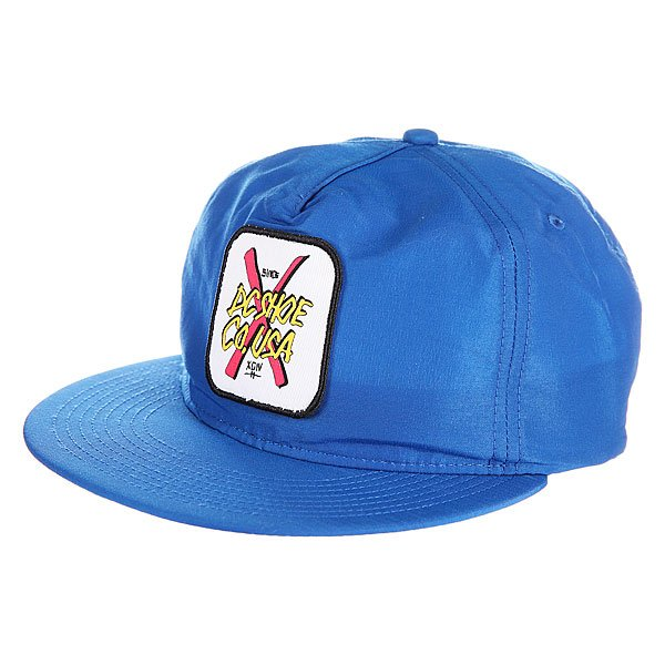 Бейсболка DC Fake Wealth Hats Snorkel Blue