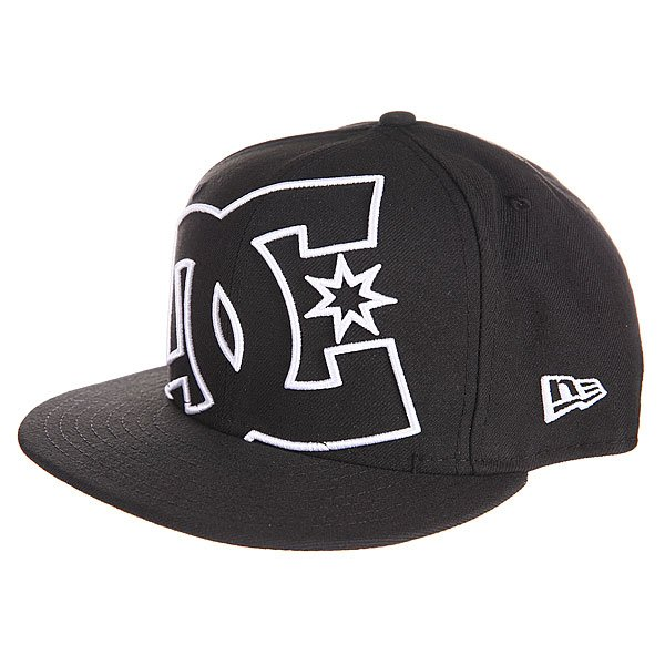 Бейсболка New Era DC Coverage Hats NewEra Vintage Black