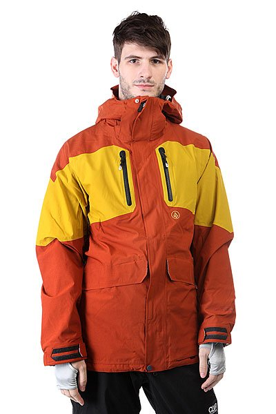 Volcom Ex 4-way Jacket Rust